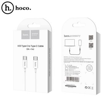 Кабель USB Hoco x23 (Type-C to Type-C) [1m]