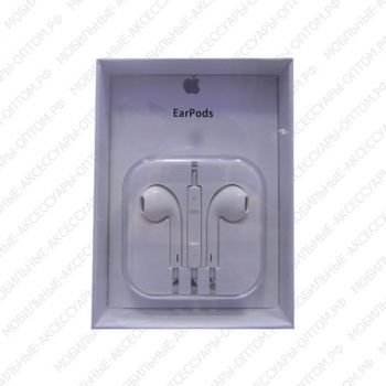 Наушники Apple EarPods (Logo yпк)