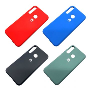 Чехол `Silicone Cover`Huawei p smart 2019 (Д)