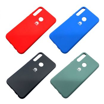 Чехол `Silicone Cover` Huawei p smart z (Д)