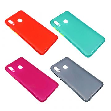 Чехол `Color Case` iPhone 12 ('5.4') (A)