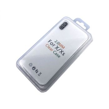 Чехол 'Clear Case' iPhone 12 Pro Max (6.7'') (Д)